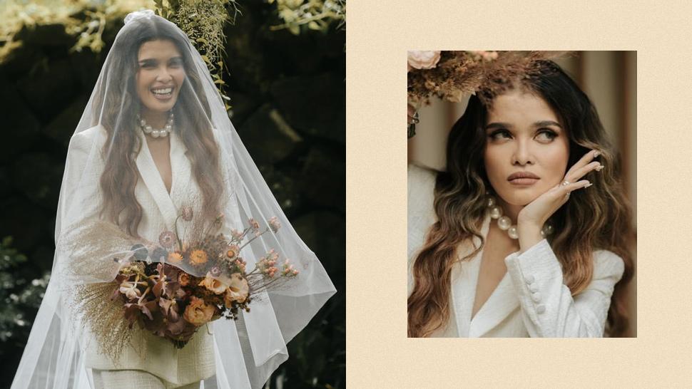 KZ Tandingans Wedding Hair and Makeup Look