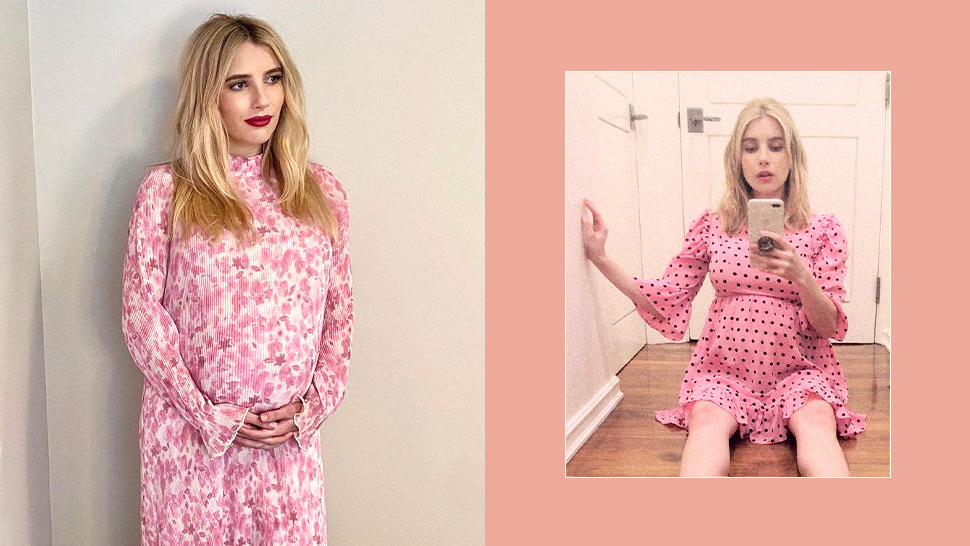 9 Stylish Pregnancy Outfits We Ve Spotted On Emma Roberts