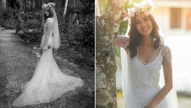 Here S How Bianca Gonzalez Picked Her Bridal Gown And Did Her Own