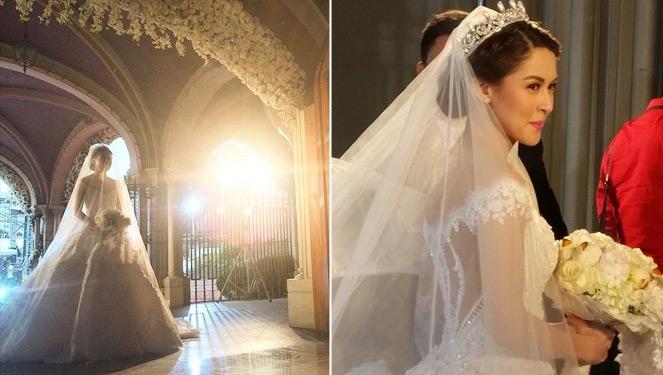 A Closer Look At Marian Rivera S Wedding Dress