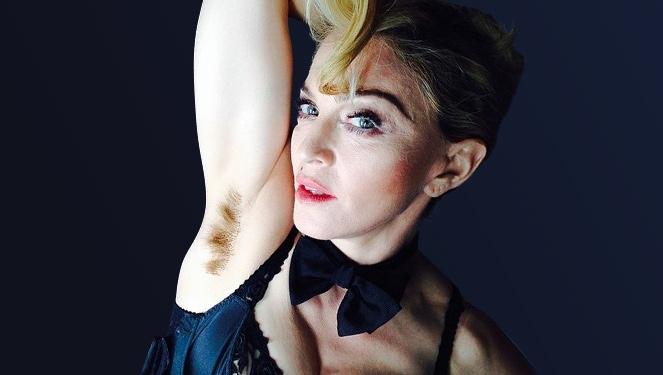 Pastel Armpit Hair Trend