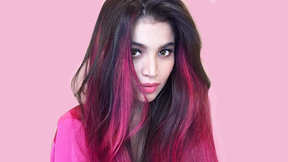 Anne Curtis New Hair Color Is Shocking Pink Preview