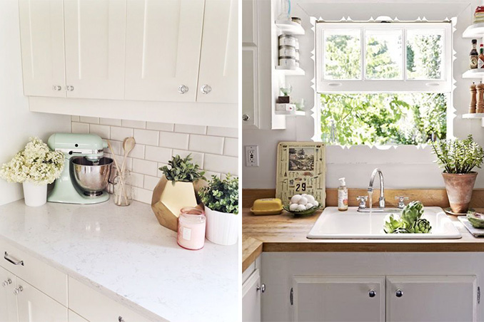 5 beautiful kitchen counter vignettes you'd want to recreate | rl