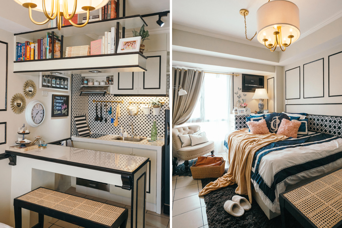 A 22sqm Studio Unit with Traditional and Contemporary Touches