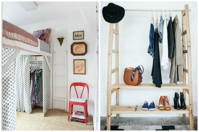 5 No Closet Solutions For Small Spaces
