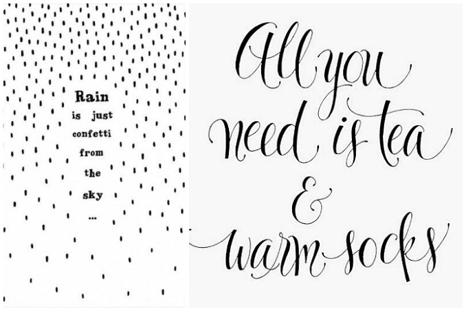 happy quotes to cheer you up on rainy days