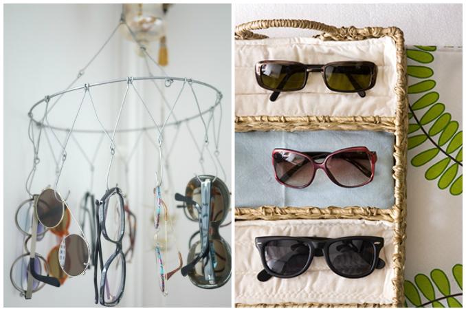 82e39646ac 5 Easy Organization Ideas For Your Sunglasses