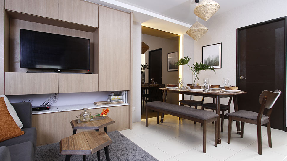 Tropical Meets Contemporary In This 60sqm Condo Unit