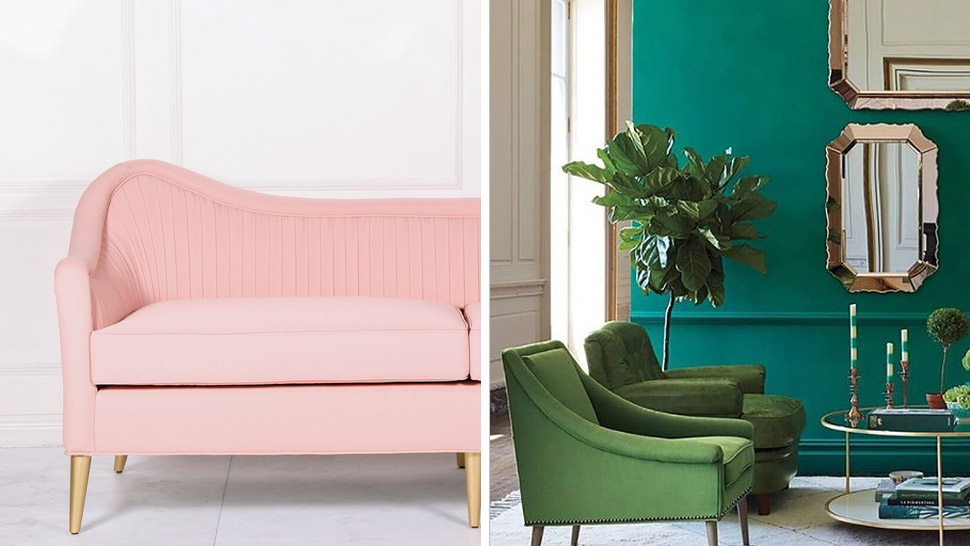 10 Photos Of Blush And Green Rooms
