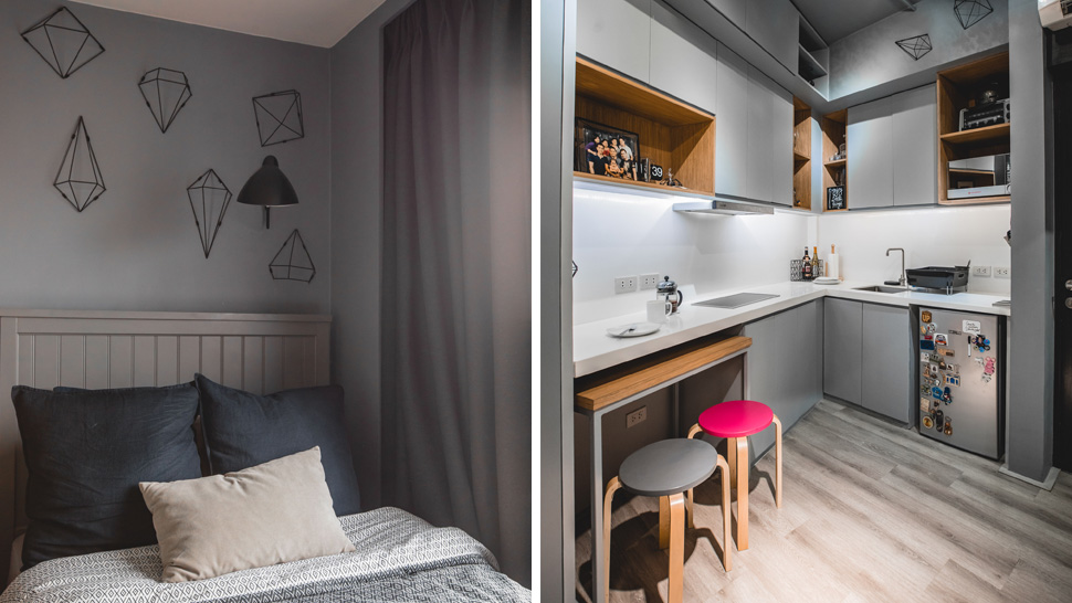 this 17sqm studio unit gives us small space goals rl
