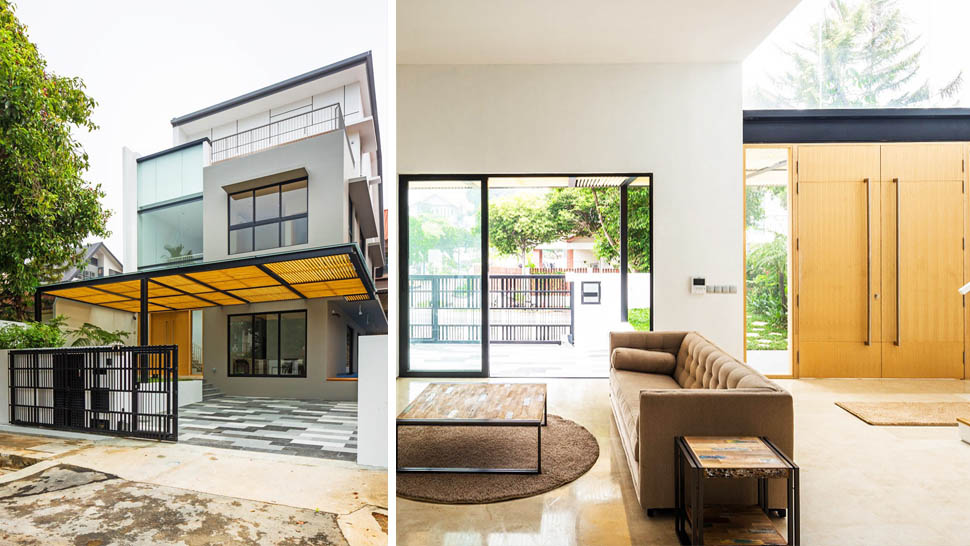 A Filipino Designed This Space Savvy Modern House In Singapore