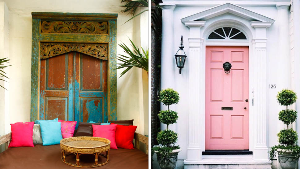 10 Seriously Cool Front Door Ideas