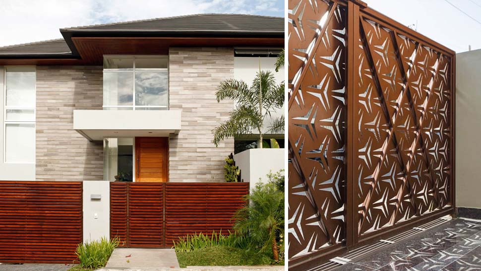 . Gate Designs for Modern Minimalist Homes