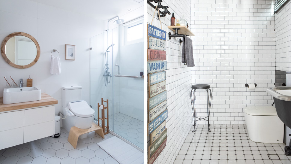 5 Affordable Ways To Update A Tiny Bathroom Rl