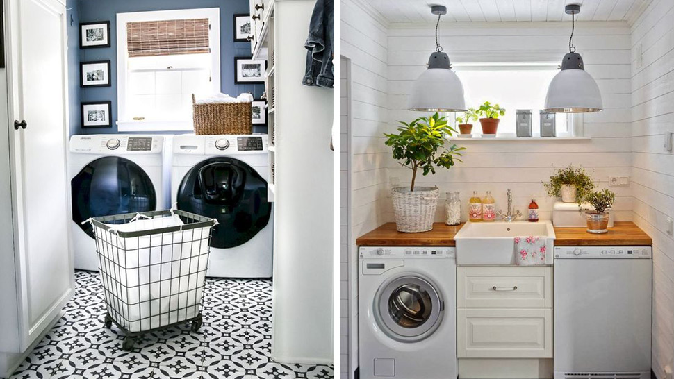 7 Tiny Laundry Areas We Love