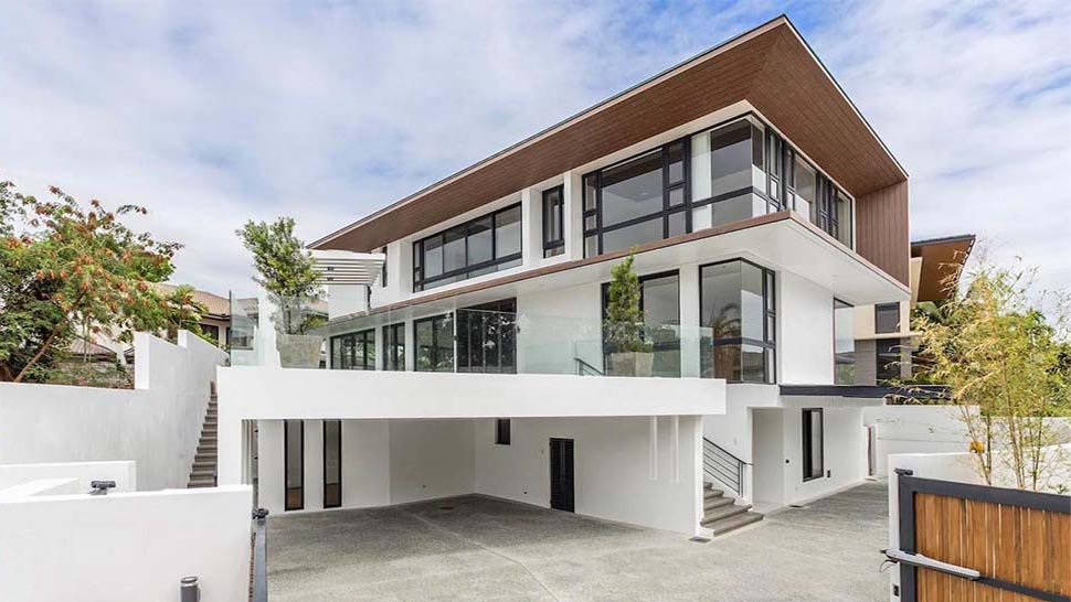 This Minimalist Modern Home In Alabang Is An Architectural Wonder Rl