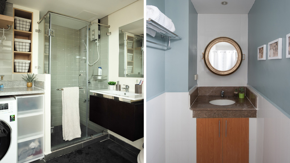 These Tricks Can Help You Update A Tiny Bathroom Rl