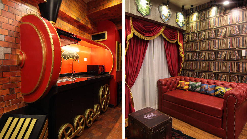 Harry Potter Inspired Airbnb Unit In Tagaytay