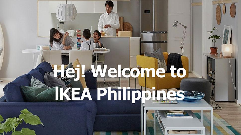 ikea launches philippine website