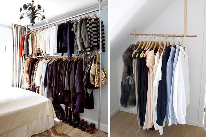 Jumpstart Your Day: 5 Alternative Closet Design Ideas For