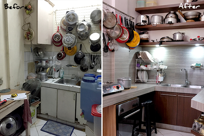 Mini Makeovers A Kitchen Renovation In Cainta Rizal