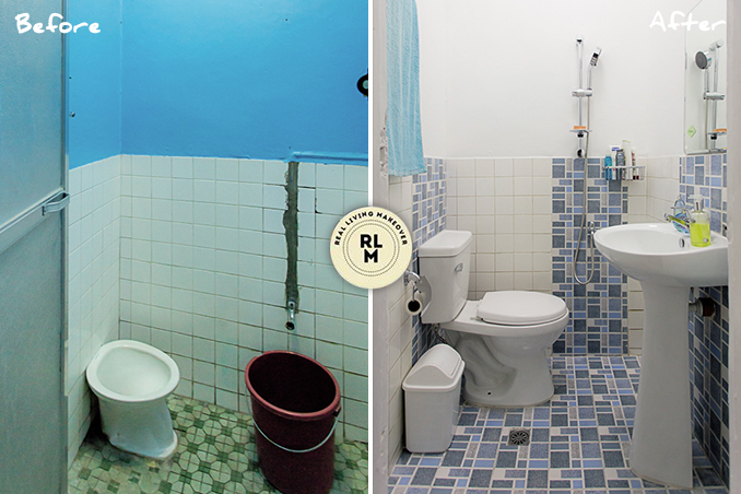 . RL Makeovers  A Living  Dining  and Bathroom Makeover in Quezon City