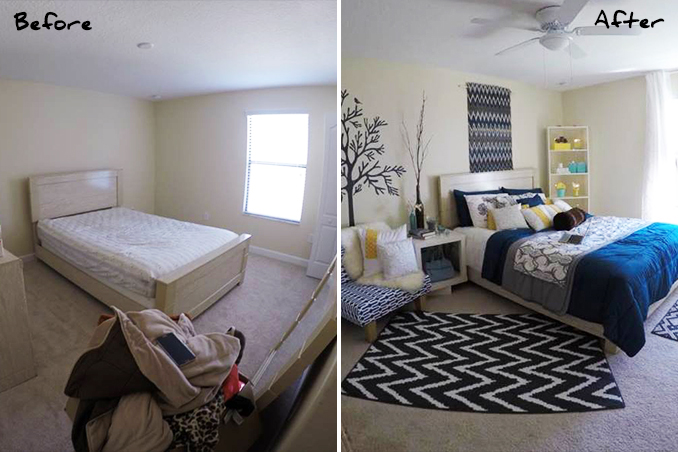 Mini Makeovers 7 Bedroom Decorating Ideas From A Real Living Reader