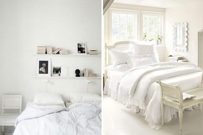 Jumpstart Your Day 5 White Themed Bedrooms That Will Make You Feel Like Re On Cloud 9 Rl