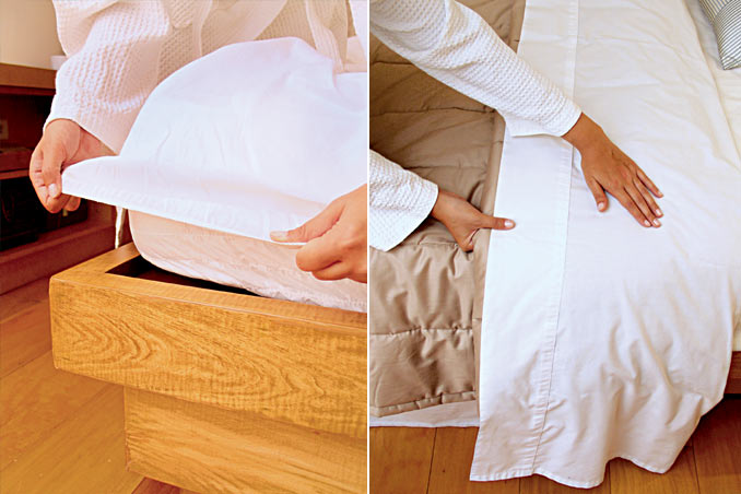 Rl Ideas Make A Hotel Style Bed In 6 Easy Steps