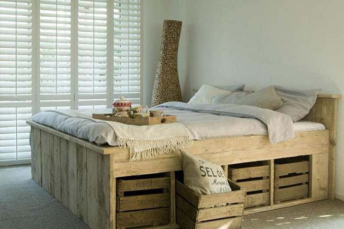 Jumpstart Your Day 4 Easy Diy Recycled Wood Pallet Furniture Ideas Rl