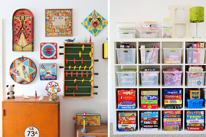 3 creative ways to store your board games