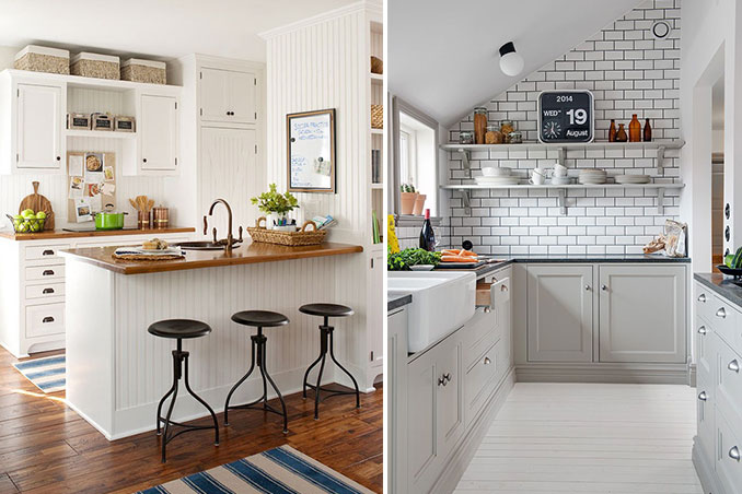 5 Small Kitchens From Pinterest