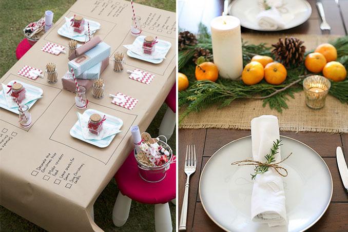5 Must Do Christmas Table Setting Ideas
