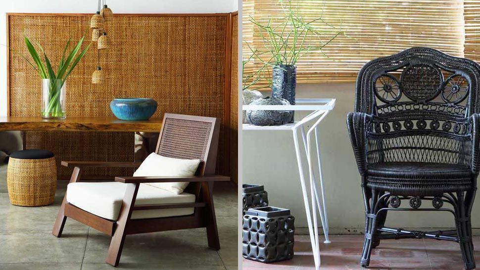 Weaves The Secret To Tropical Style, Tropical Style Furniture