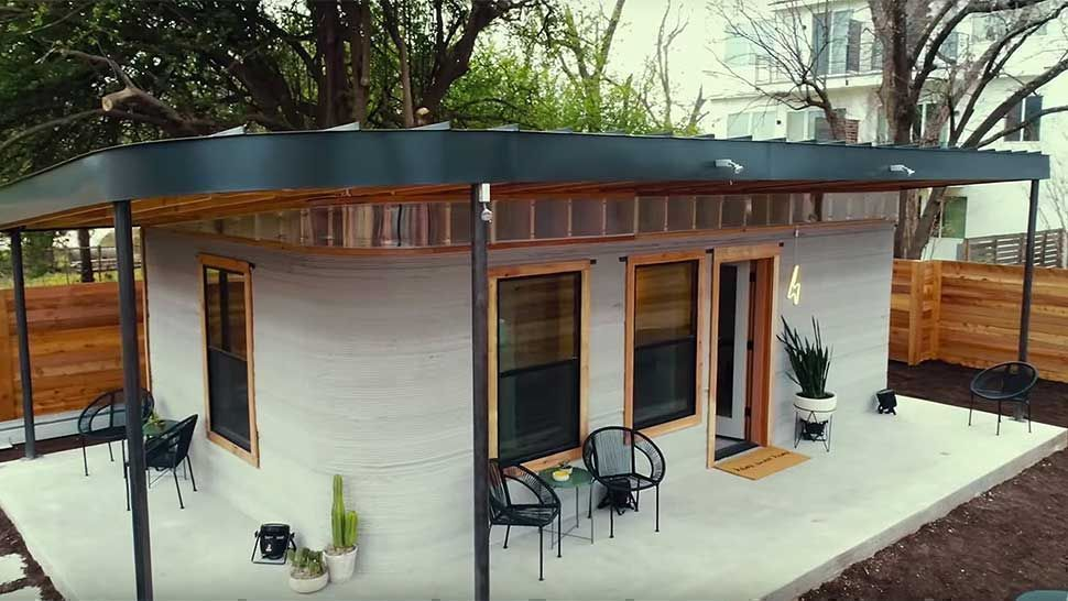 This Modern House Was Built In Less Than 24 Hours