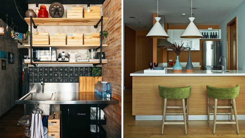 These 8 Condo Kitchens Show Us Clever Small Space Solutions