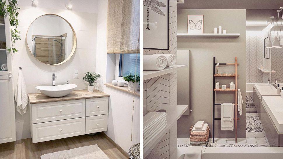 Scandinavian Inspired Bathroom Makeover