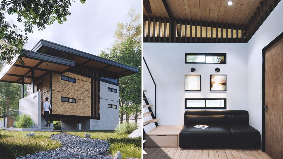 Modern Bahay Kubo Tiny House Design