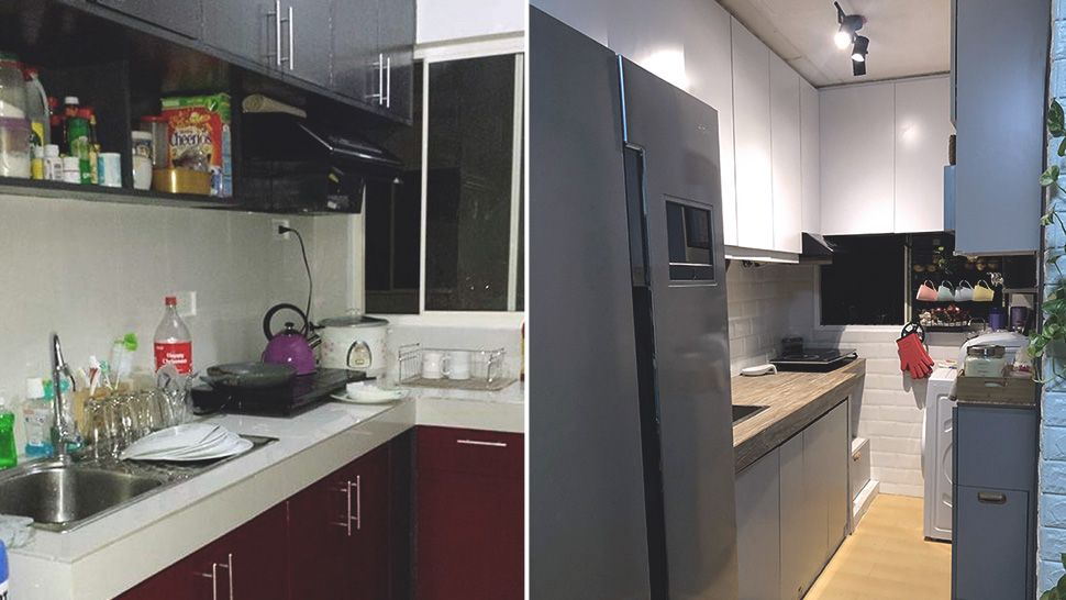 See How This Homeowner Gave Her Small Kitchen A Makeover