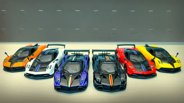 These Pagani scale models will fuel your hypercar dreams