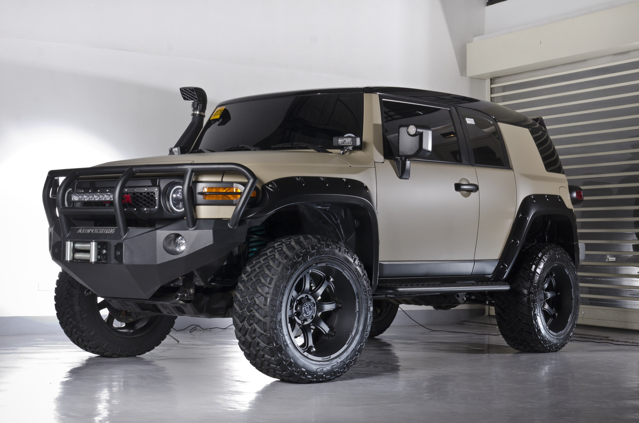 Stock To Rock The Toyota Fj Cruiser