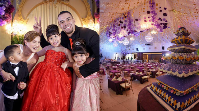Photos Kendra Kramer S Princess Ball Themed Party Is Fit