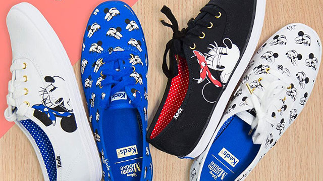 Minnie Mouse Gets Her Own Sneaker Line!