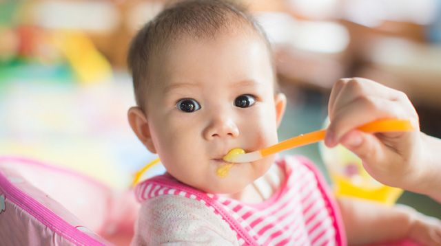 Feeding Your Baby A Guide On Solid Foods For Your 6 Month Old Sp