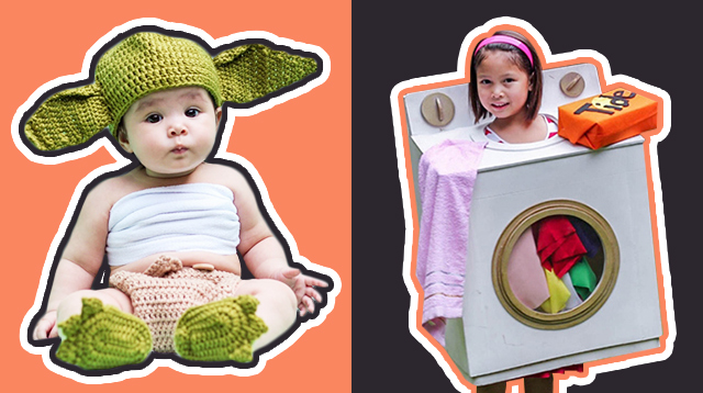 5aac9c9fdbd 14 Halloween Costumes for Those Who Secretly Hate DIY (Baby to Big Kids)