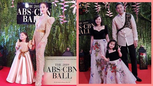 Twinning and Gorgeous Mamas! It's Family Fashion Night at the 2019 ABS-CBN Ball