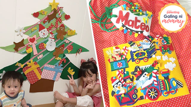 How To Make Your Christmas Tree And Decorations Toddler-Proof? DIY With Felt!