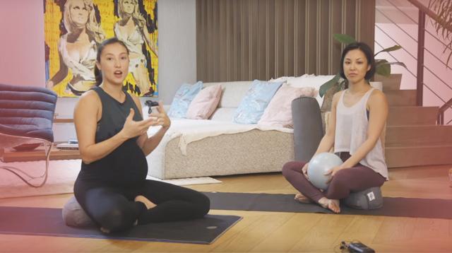 LOOK! Prenatal Yoga Routine Sa Bahay Ni Solenn Heussaff-Bolzico