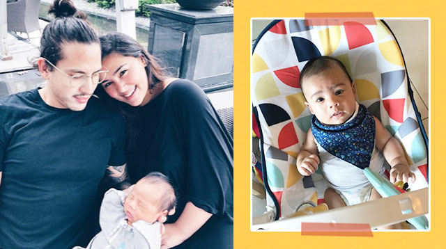 Gwen Zamora And David Semerad Take Shifts To Take Care Of Baby Cooper