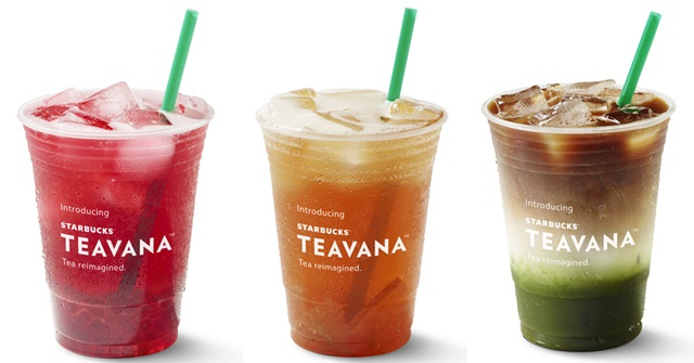 Starbucks Launches All New Teavana Handcrafted Beverages Line